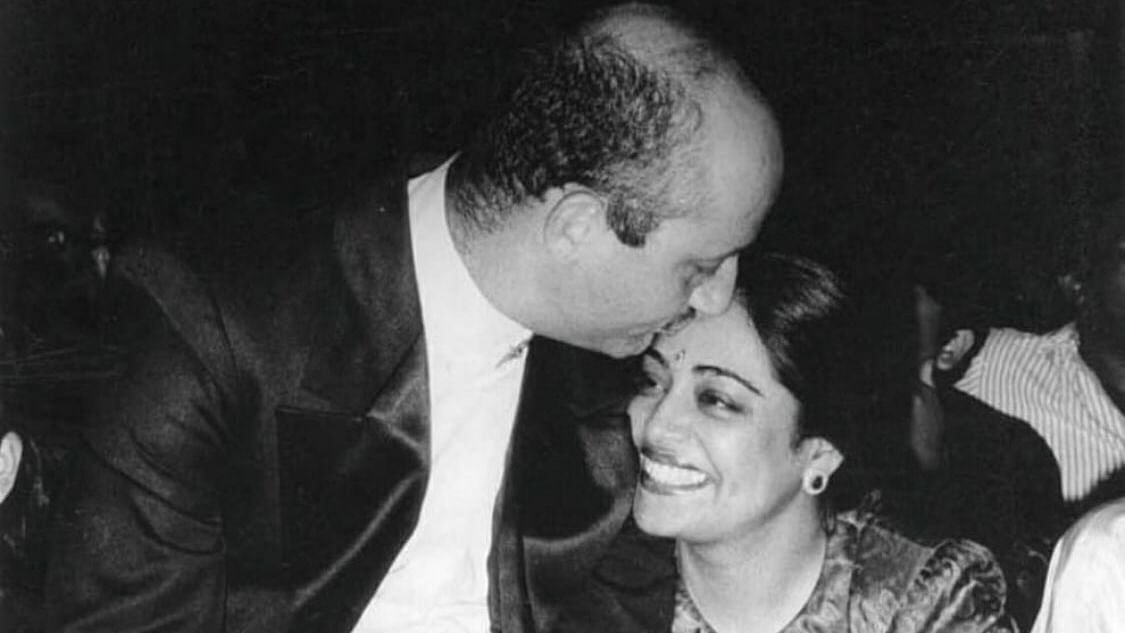Anupam Kher's sweet anniversary message for Kirron Kher: 'I am and will always be there for you'