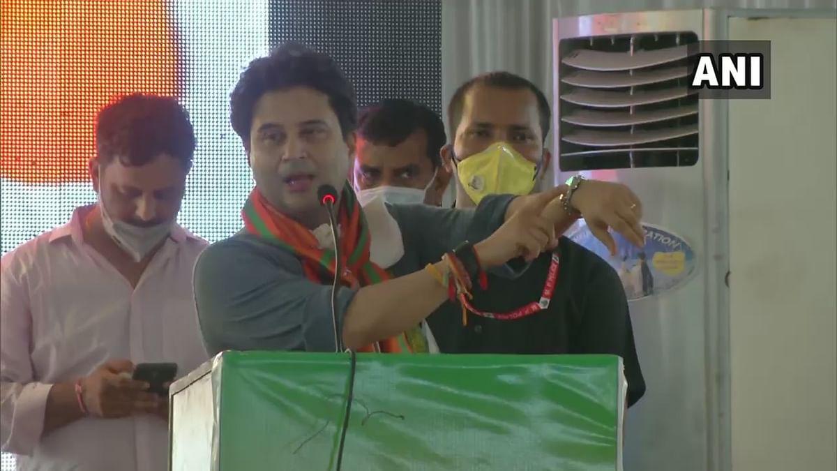 Madhya Pradesh: Ex-CM Kamal Nath had imposed lockdown at Vallabh Bhawan for the public, says Jyotiraditya Scindia