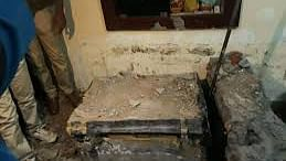 Marble tomb: Udayan Das after murdering Akanksha had put her body into a metal box and concrete was poured over it, he later covered the block with marble at his house in Saket Nagar
