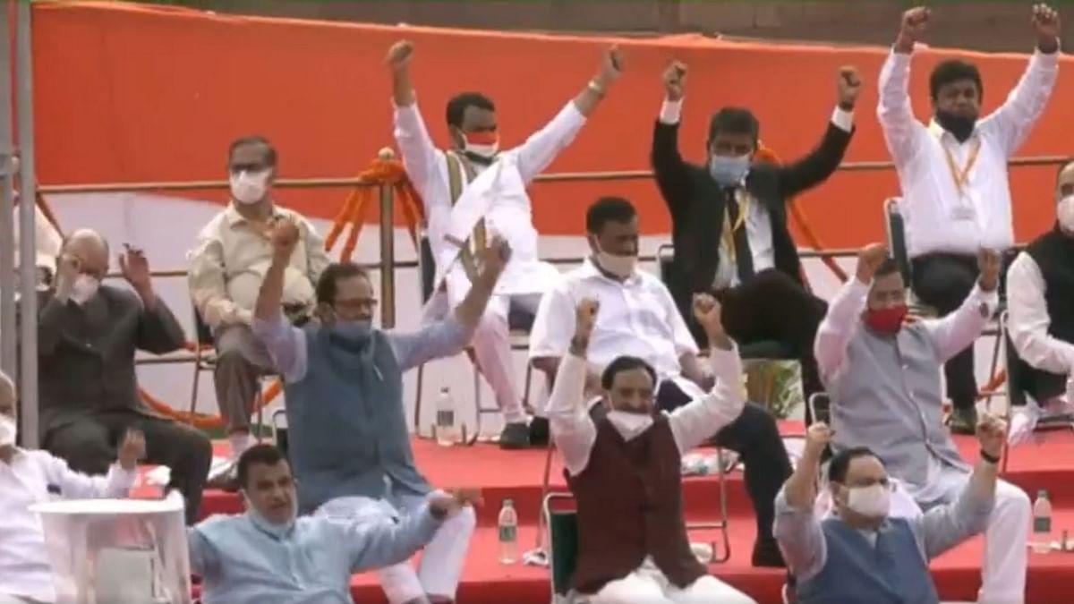 Photo: Twitter video screengrab/Narendra Modi