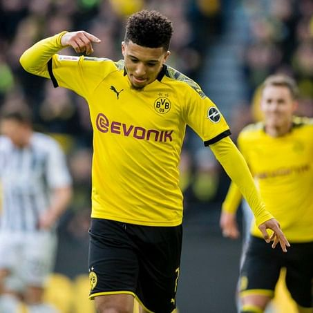 Dortmund says Jadon Sancho will stay amid Manchester United transfer rumours