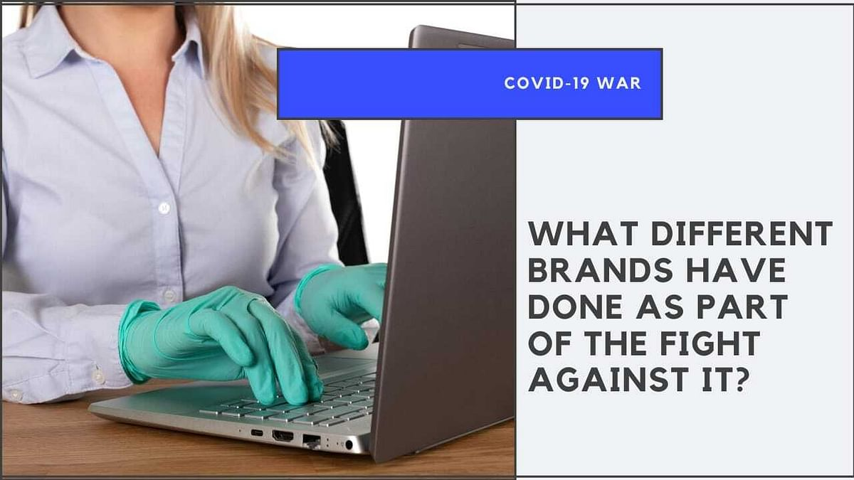 What Different Brands have done as part of the fight against Covid?