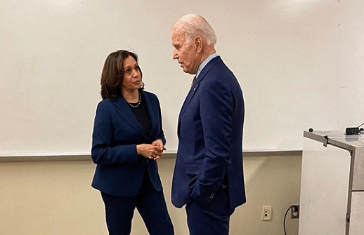What does Kamala Harris think of the 'Free Kashmir' movement?