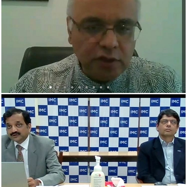 IMC organises online interaction with Dr. Junaid Ahmad, Country Director, World Bank India