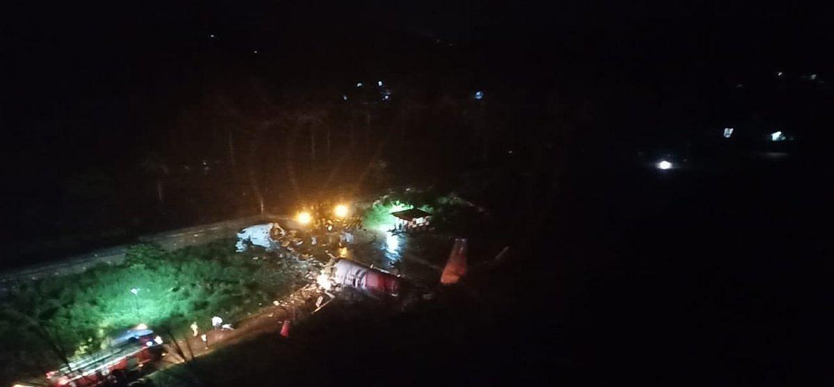 Calicut Air India Plane Crash: Pics and videos of shocking incident