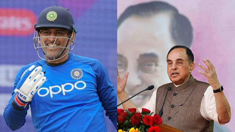 Subramanian Swamy wants MS Dhoni to contest Lok Sabha Elections in 2024