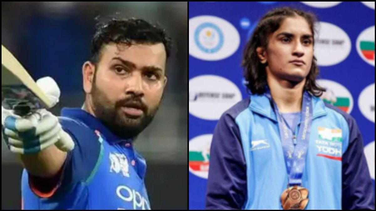 Rohit Sharma, Vinesh Phogat and three others recommended for Khel Ratna Award