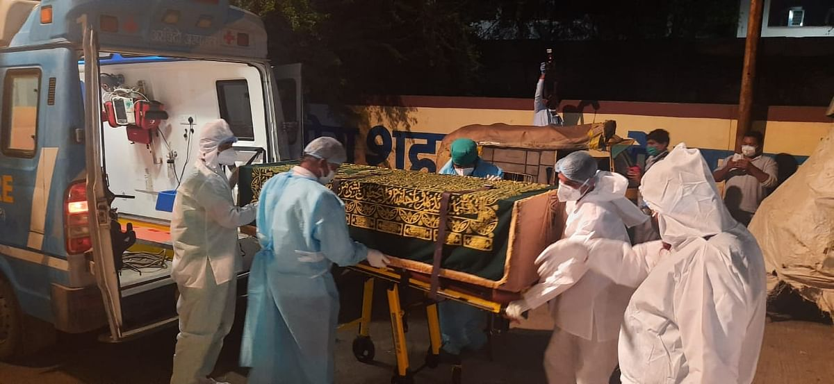 Indore: Noted Urdu poet Rahat Indori's last rites performed as per COVID norms