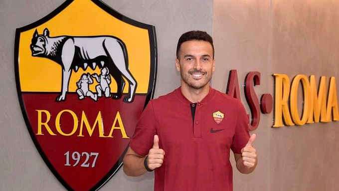 Pedro signs three-year contract with Serie A side Roma