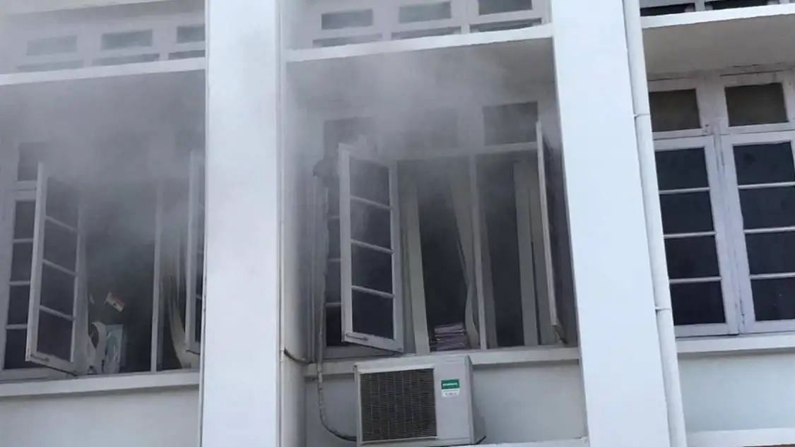 Fire at Kerala Secretariat: Opposition alleges conspiracy to destroy gold smuggling case evidence