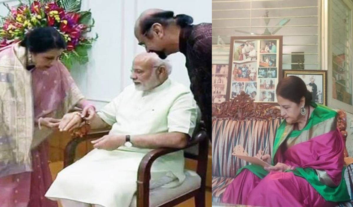Raksha Bandhan 2020: Meet Qamar Mohsin Shaikh - PM Modi's Pakistani Rakhi sister