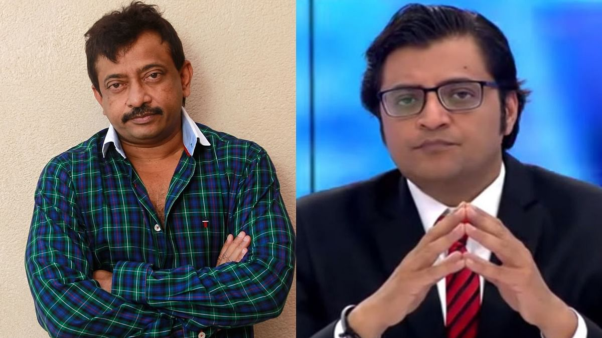 When Ram Gopal Varma wanted to 'kiss and make love' to Arnab Goswami who he called a 'News Prostitute'