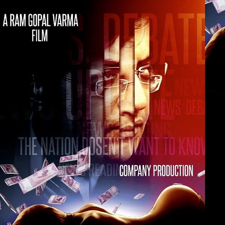 Ram Gopal Varma unveils first look poster of his film 'ARNAB The News Prostitute'