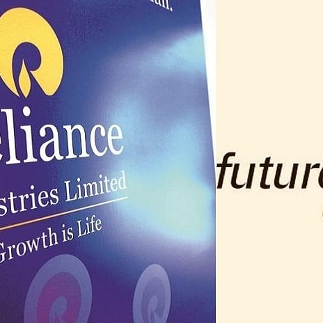 Reliance Industries shares jump nearly 3%; Future Group stocks rally too