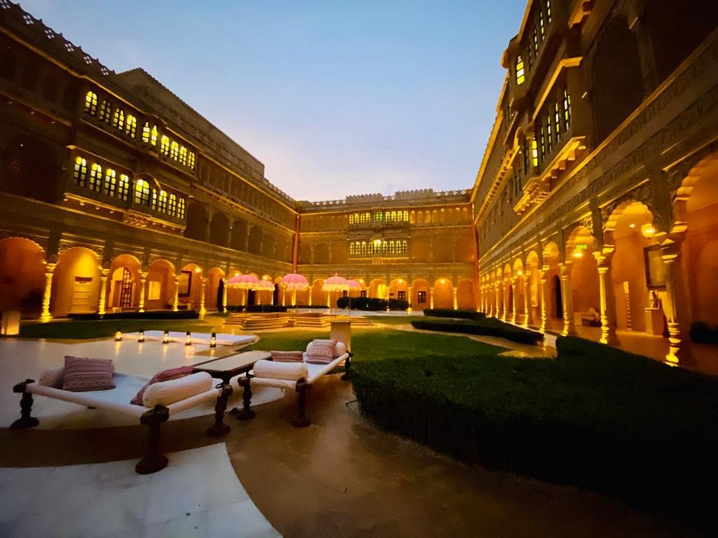 Luxury on steroids - This is the hotel in Jaisalmer that is lodging Ashok Gehlot and his MLAs