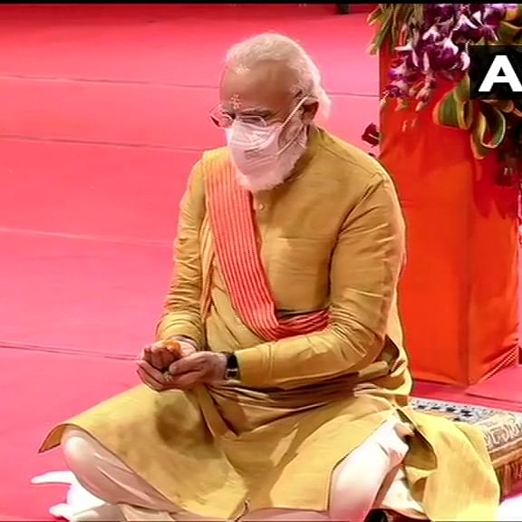 'And Modi finishes off in style': Twitter reacts to Ayodhya Bhoomi Pujan event