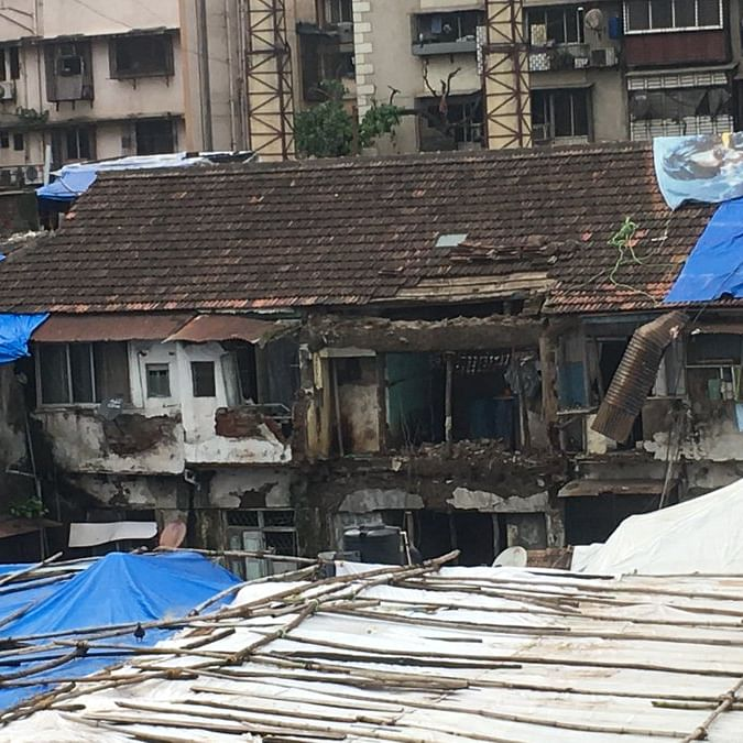 Two declared dead as portions of house collapse at Nagpada area in Byculla
