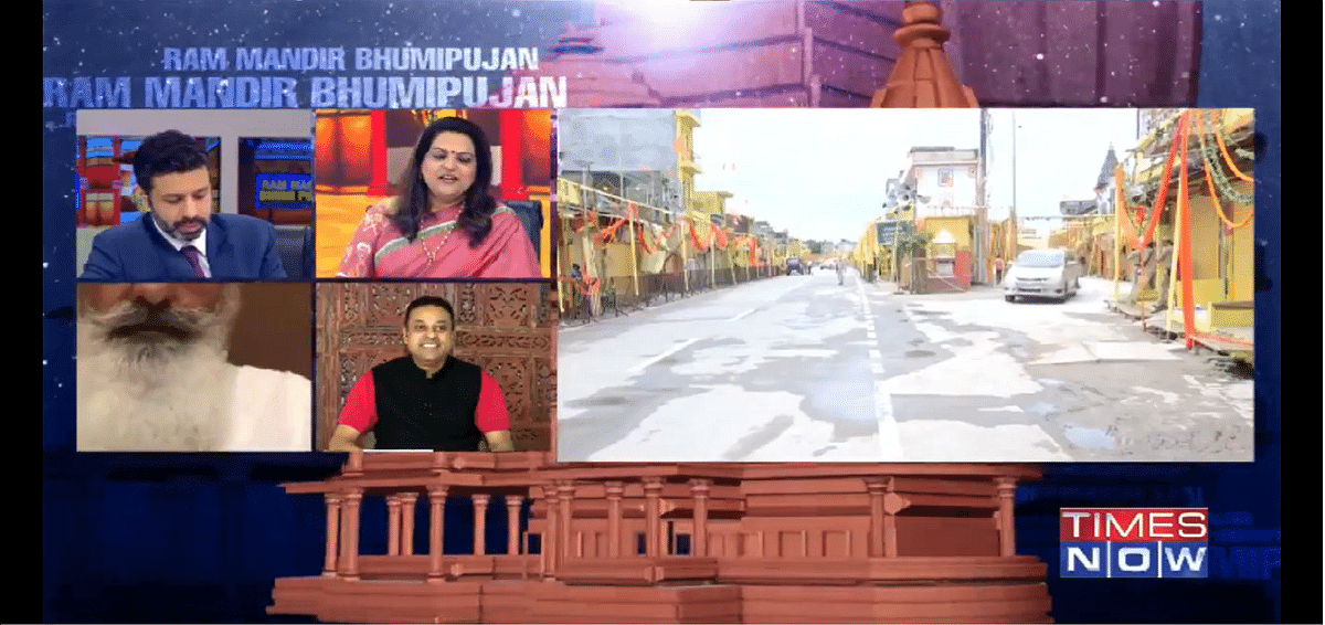 Watch: Navika Kumar and Sambit Patra's duet on live TV
