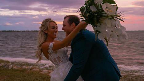 Luke Combs marries fiancee Nicole Hocking