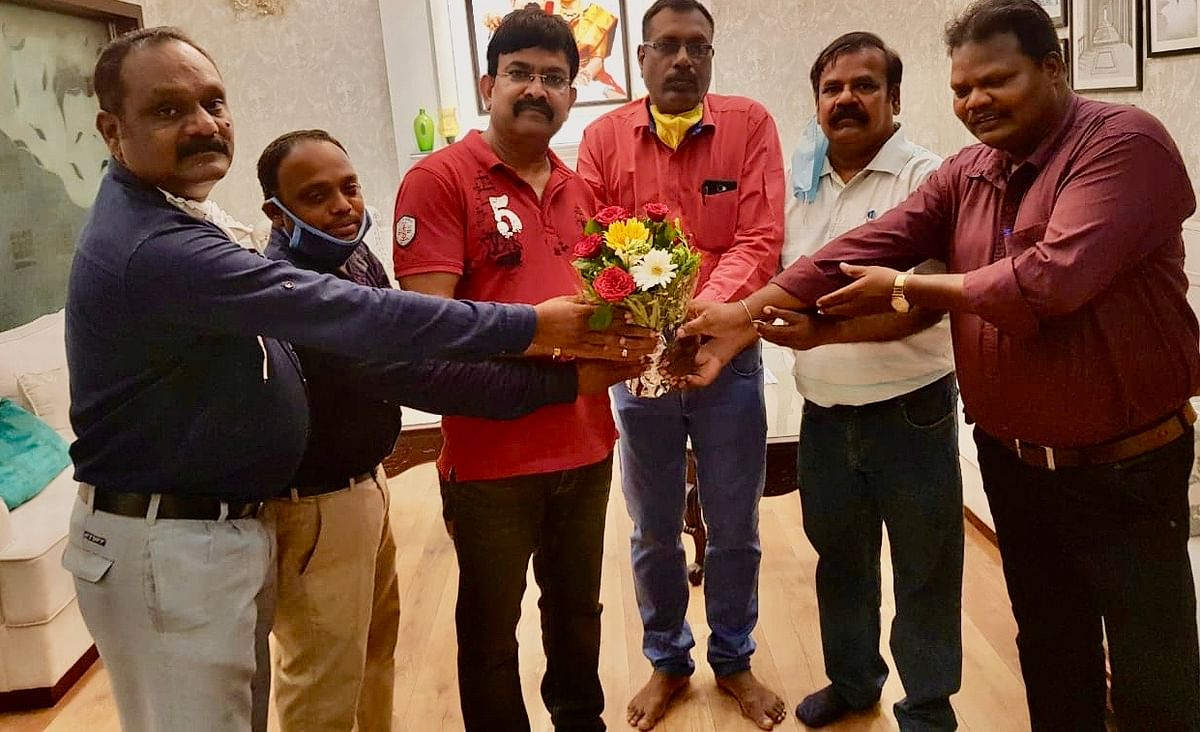 P Raju, the managing director of the western group has been unanimously elected as the President of Bhopal Tamil Sangam (BTS).