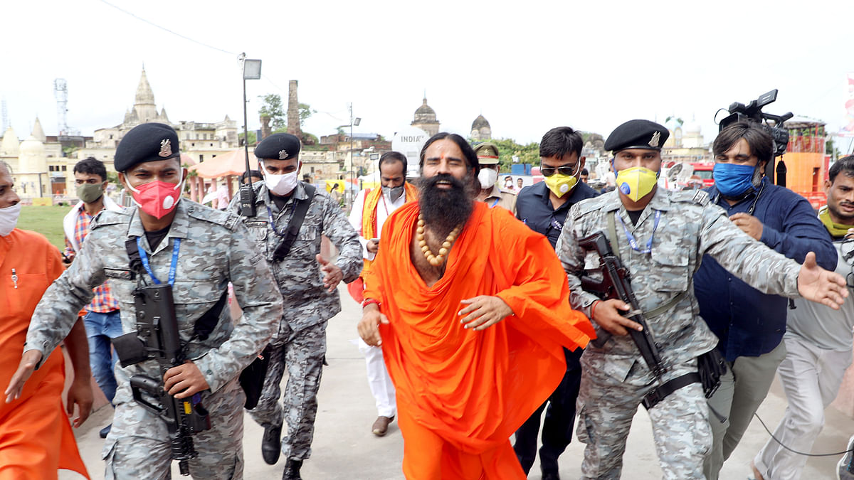 Yoga guru Ramdev to set up 'gurukul' in Ayodhya for Indians and international travellers