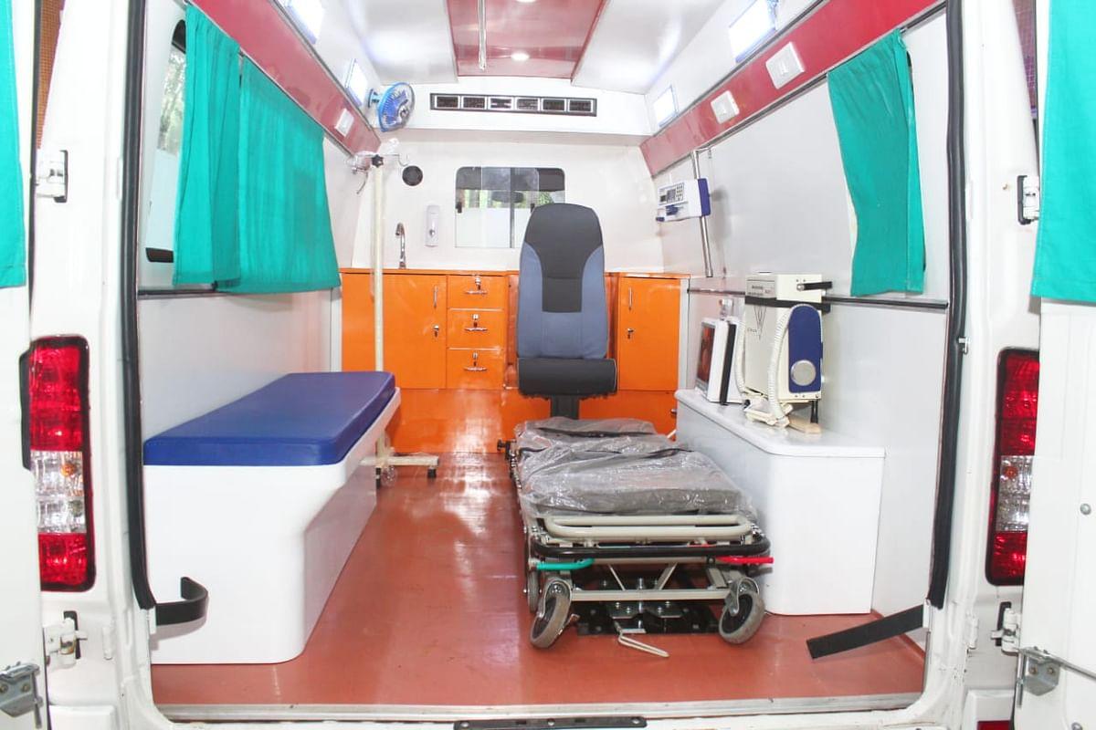 MBMC gets cardiac ambulance from Sena MLA's fund