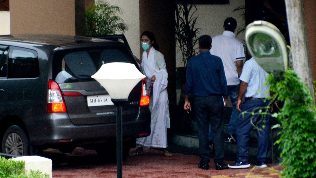 Sushant Singh Rajput death case: Rhea Chakraborty questioned by CBI on second day