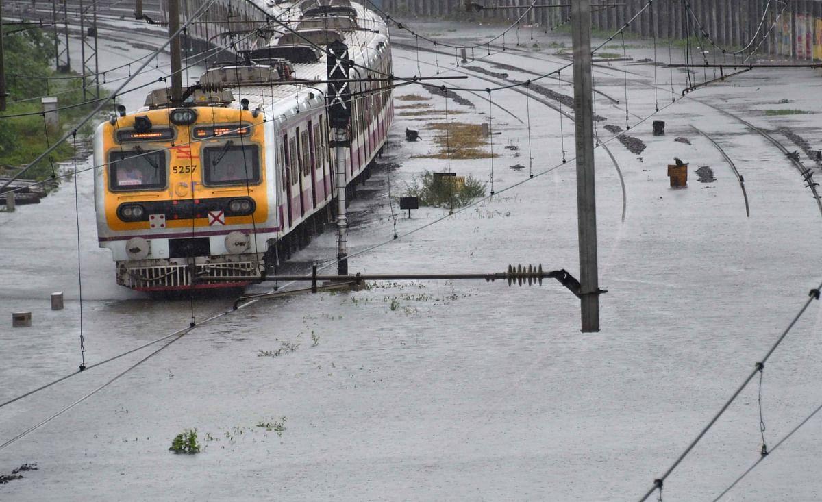 Mumbai Rains: Local train services disrupted after heavy rains