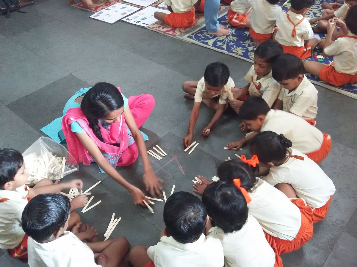 Learning beyond defined 'margins': Goregaon school supports marginalised students in academics while interacting with  environment