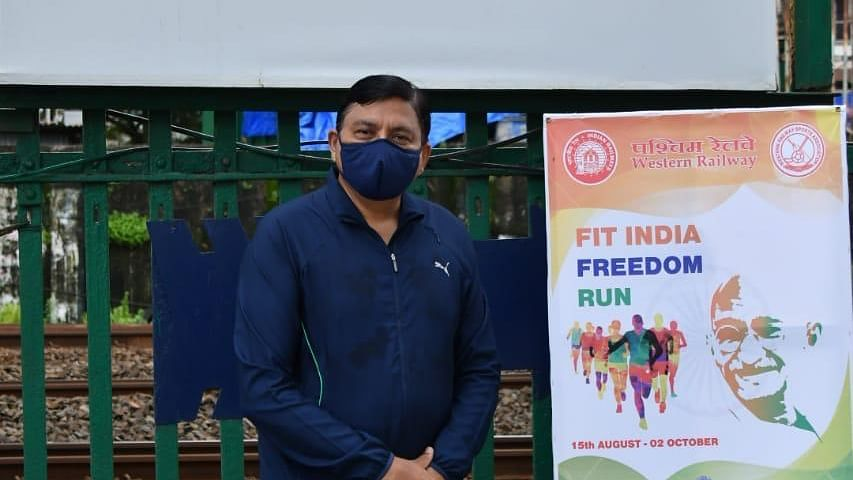WR GM launches 'Fit India Freedom Run' campaign