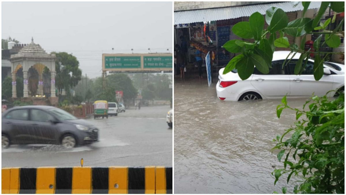 Indore Rain Update: Heavy showers throws life out of gear in city