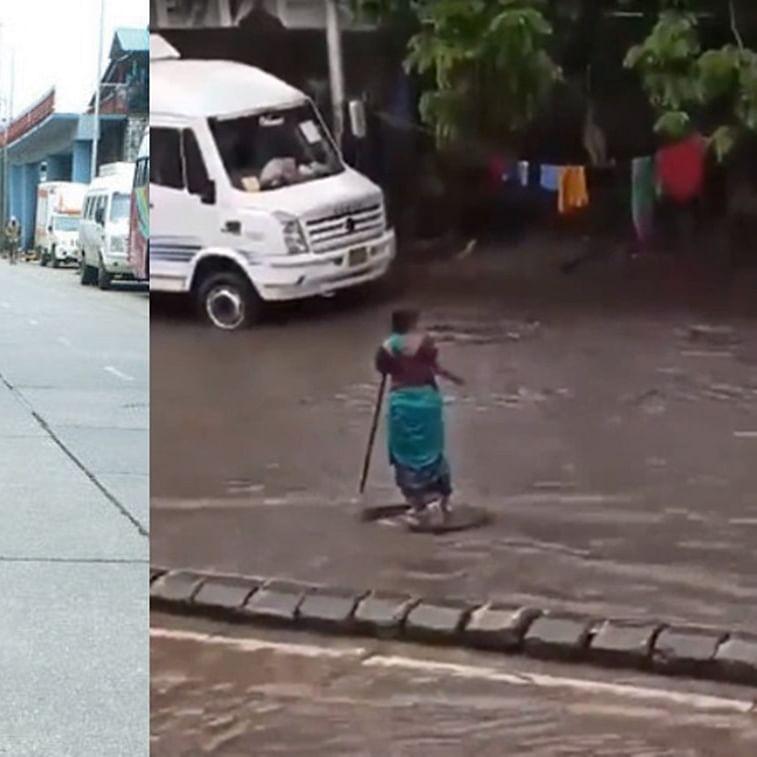 Mumbai: Woman who lost her home amid heavy rain, stood for 7-hours to warn about Matunga manhole