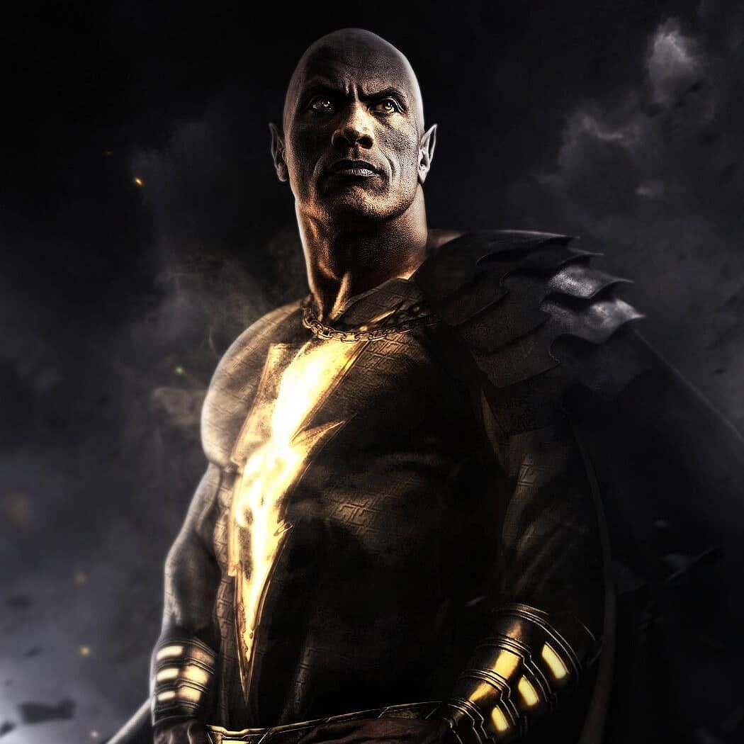 Dwayne Johnson gives his first look sneak-peek from DC's 'Black Adam'