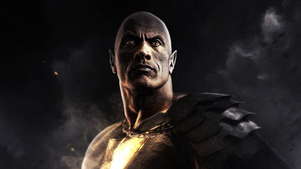 Dwayne Johnson gives his first look sneak-peek from DC's 'Black Adam'