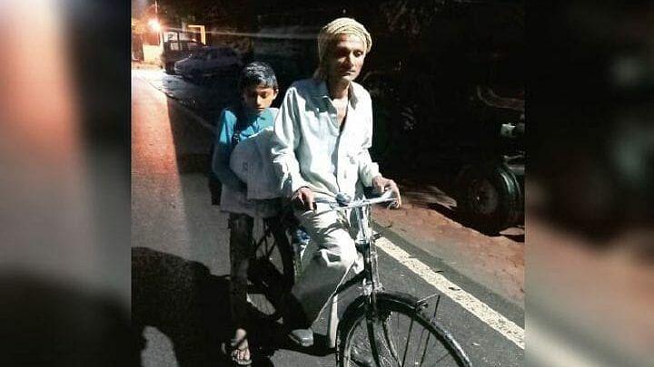 Madhya Pradesh: Man pedals 105 km to ensure his son writes board exam