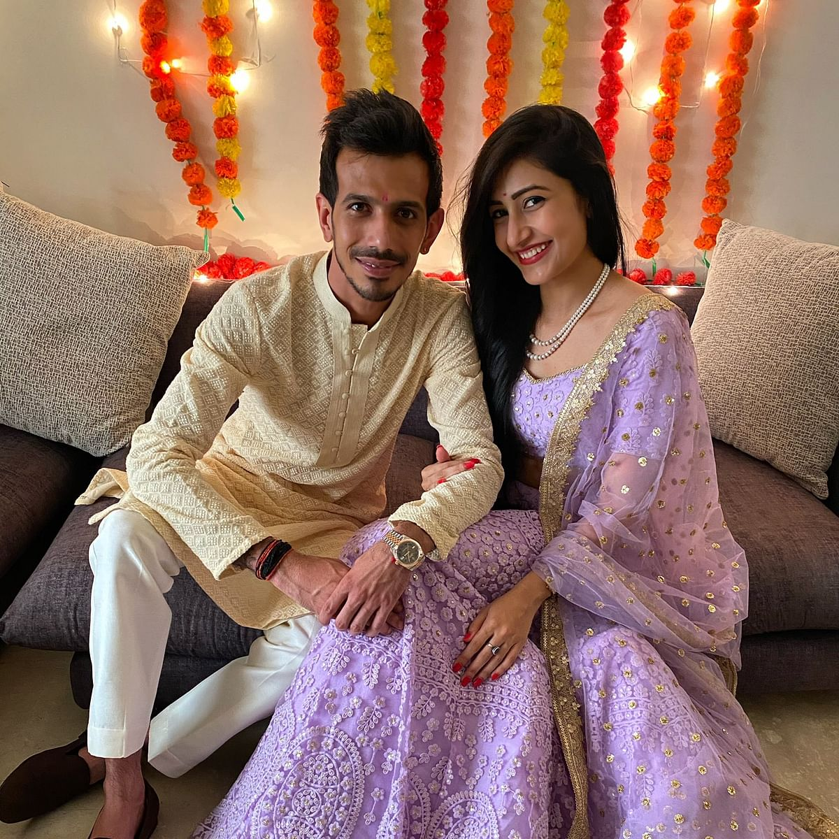 'We said yes': Yuzvendra Chahal shares photos from roka ceremony with Dhanashree Verma