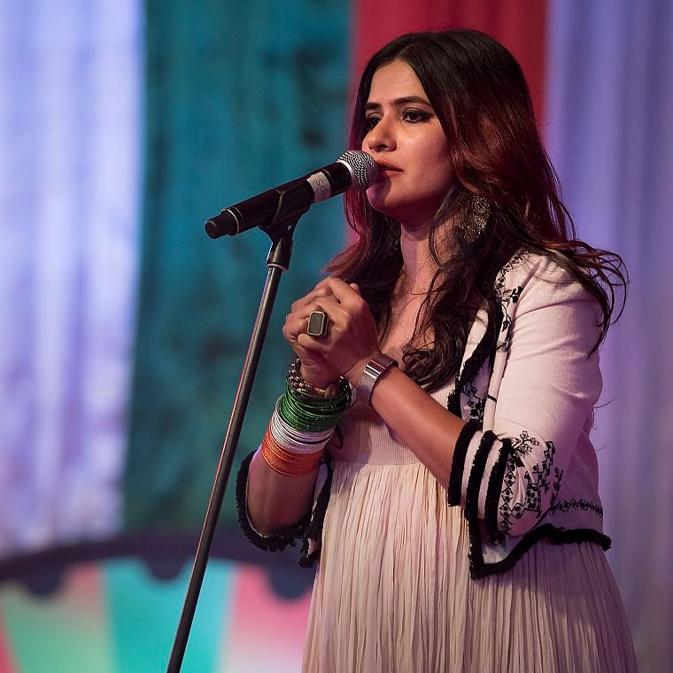 'On stage I am a storyteller,' says singer Sona Mohapatra