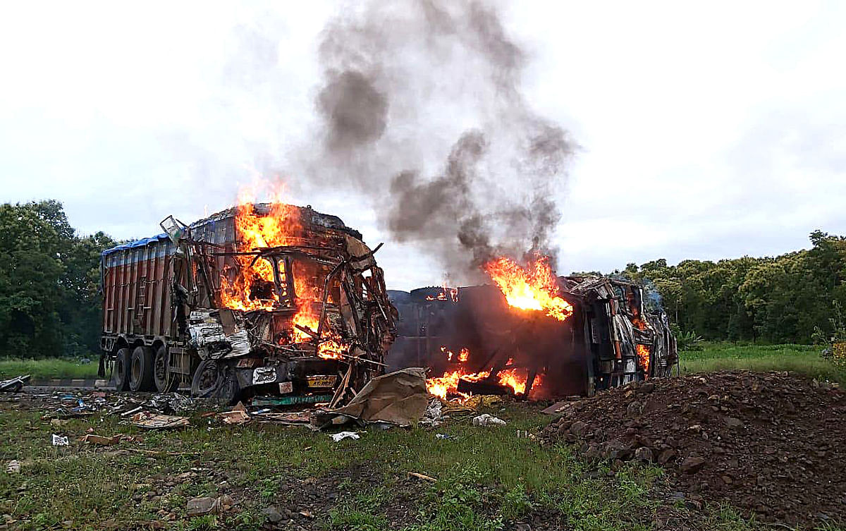 Madhya Pradesh: Three killed, eight injured in a highway accident in Seoni