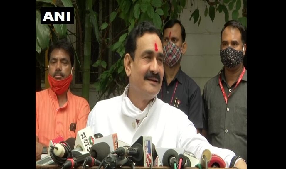 Madhya Pradesh: Narottam Mishra's jibe at the Gandhi family, says Congress is a school where only headmaster's child tops class