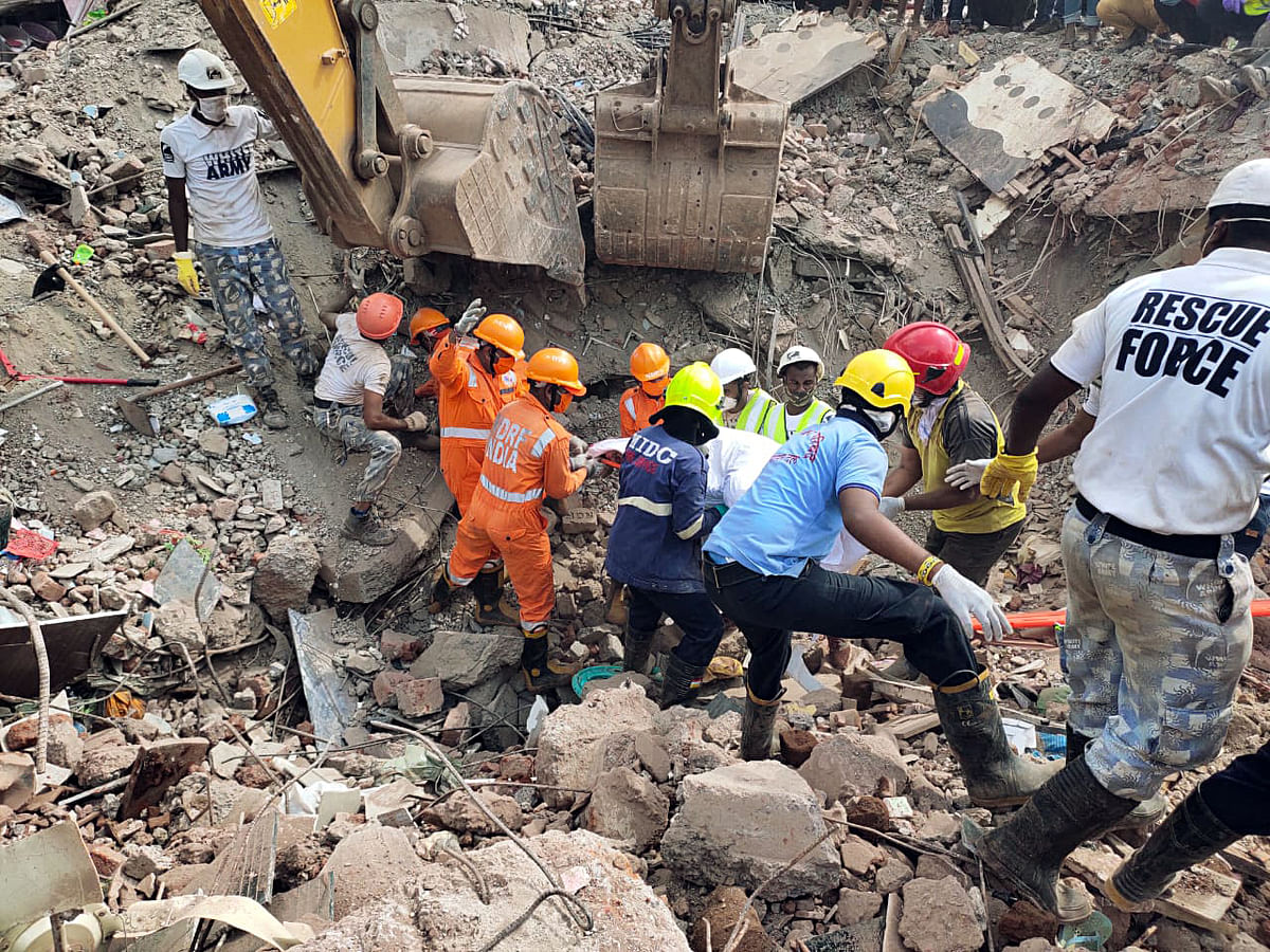 Raigad Building Collapse Latest Update: Death toll rises to 16; rescue operation still on