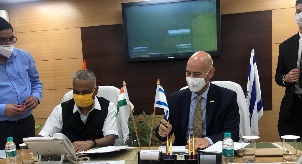 Israel Signs Agreement on Water Cooperation with the Government of Uttar Pradesh
