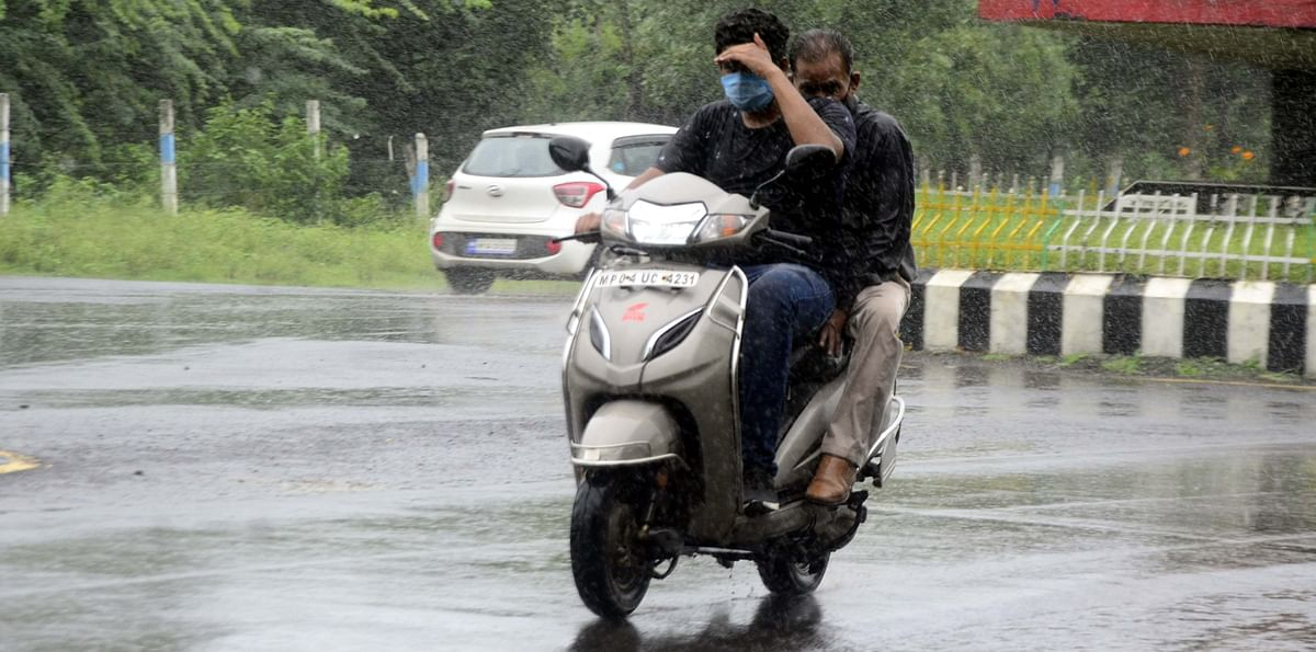 MP Weather Update: Heavy rain in several districts for next 3-4 days