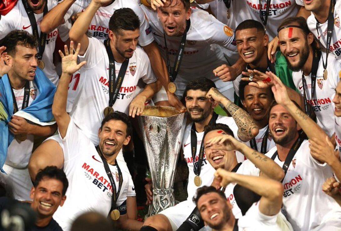 Europa League: Sevilla beat Inter Milan 3-2 to lift historic sixth title