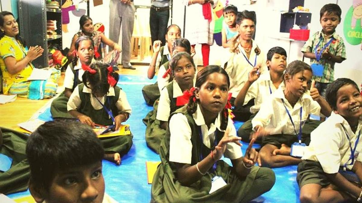 Street children get education at NGO-run SIGNAL school in Thane