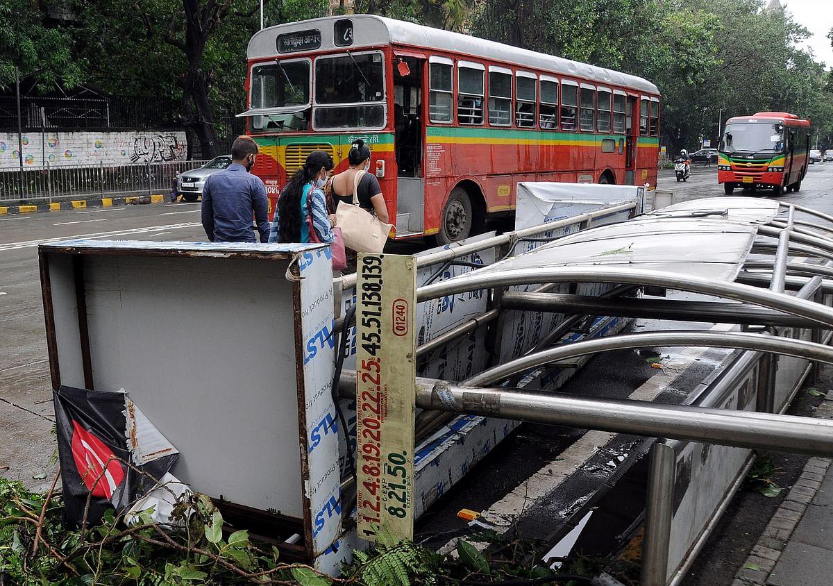 Mumbai Rains: Amid heavy rainfall 62 BEST buses report engine breakdown
