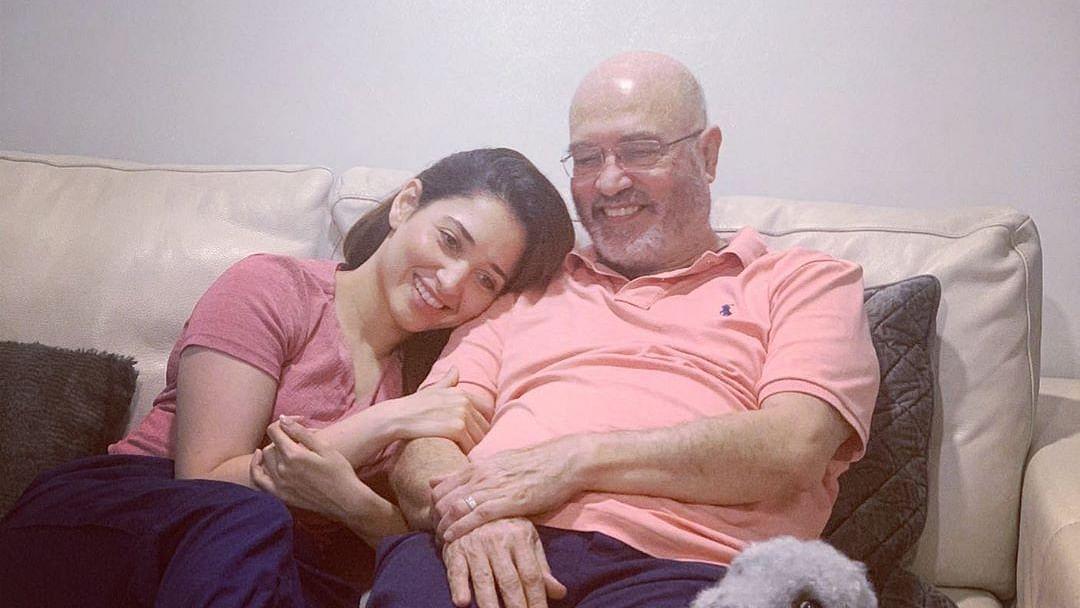 Tamannaah Bhatia's parents test COVID-19 positive; actress tests negative