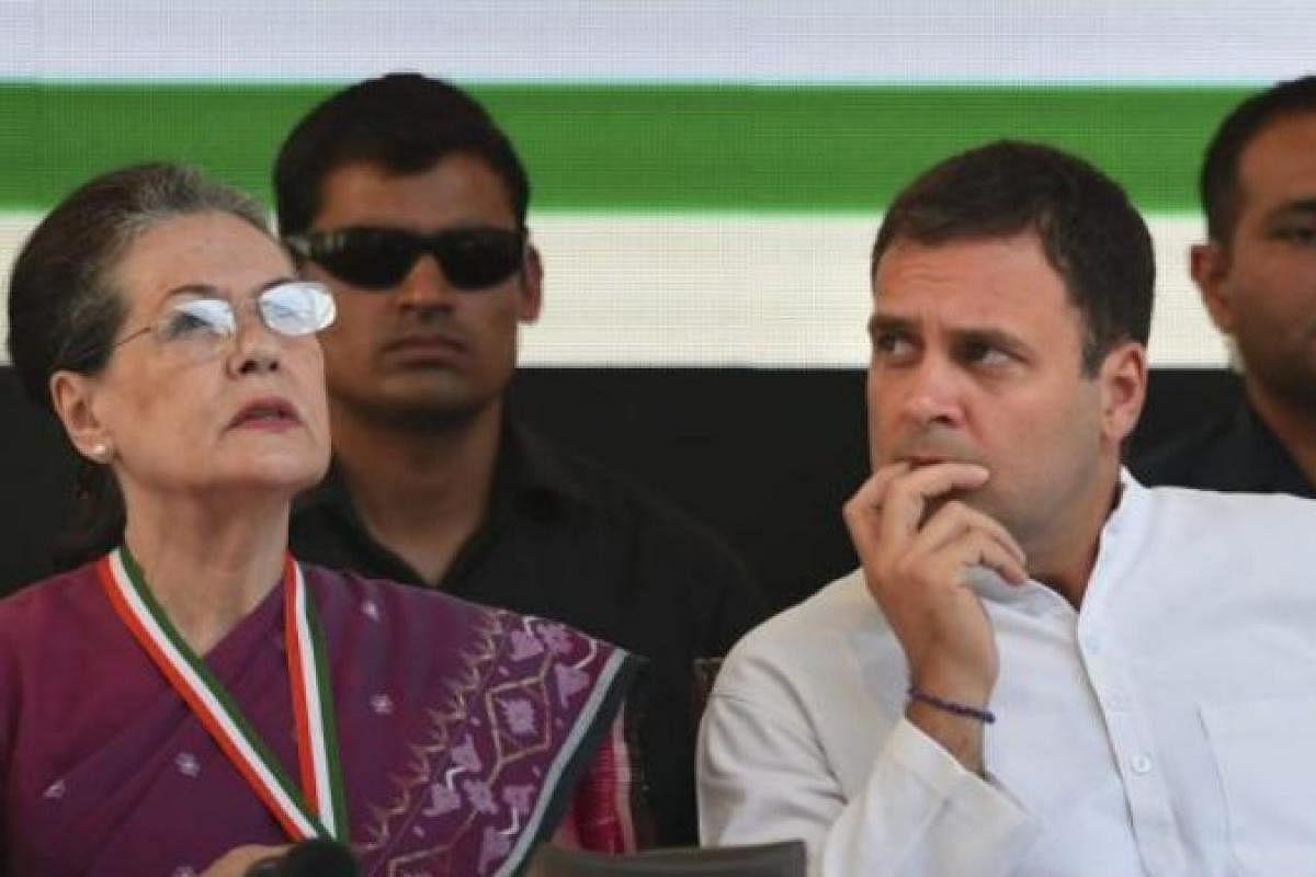 Sycophancy, Congress style: Maharashtra leaders show faith in Gandhis