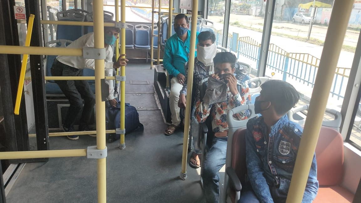 Indore: Public transport resumes in the city after five months