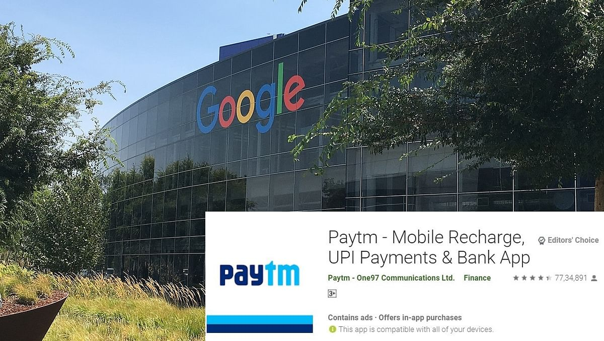 Keep calm guys because Paytm is back on Google Play Store