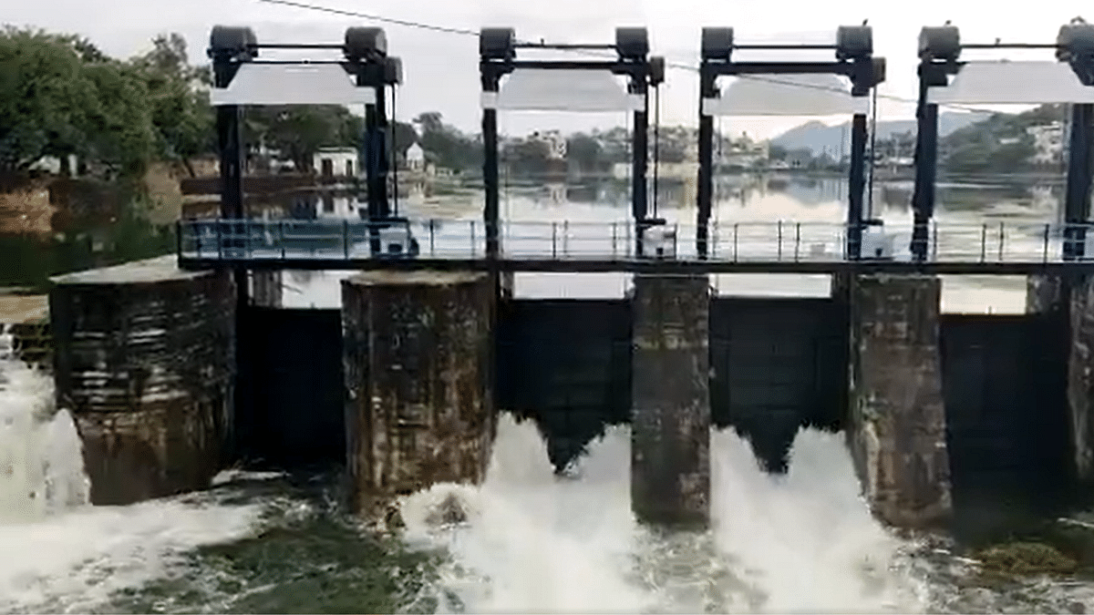 Watch: Udaipur's lakes have been filled to the brim amid heavy rainfall